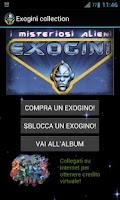 Screenshot of Collezione Exogini