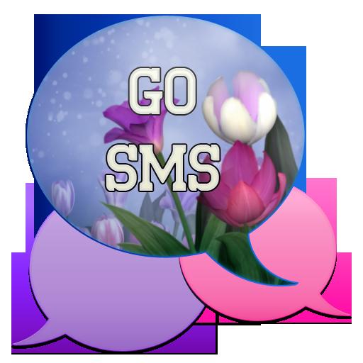 GO SMS - Bouquet LOGO-APP點子