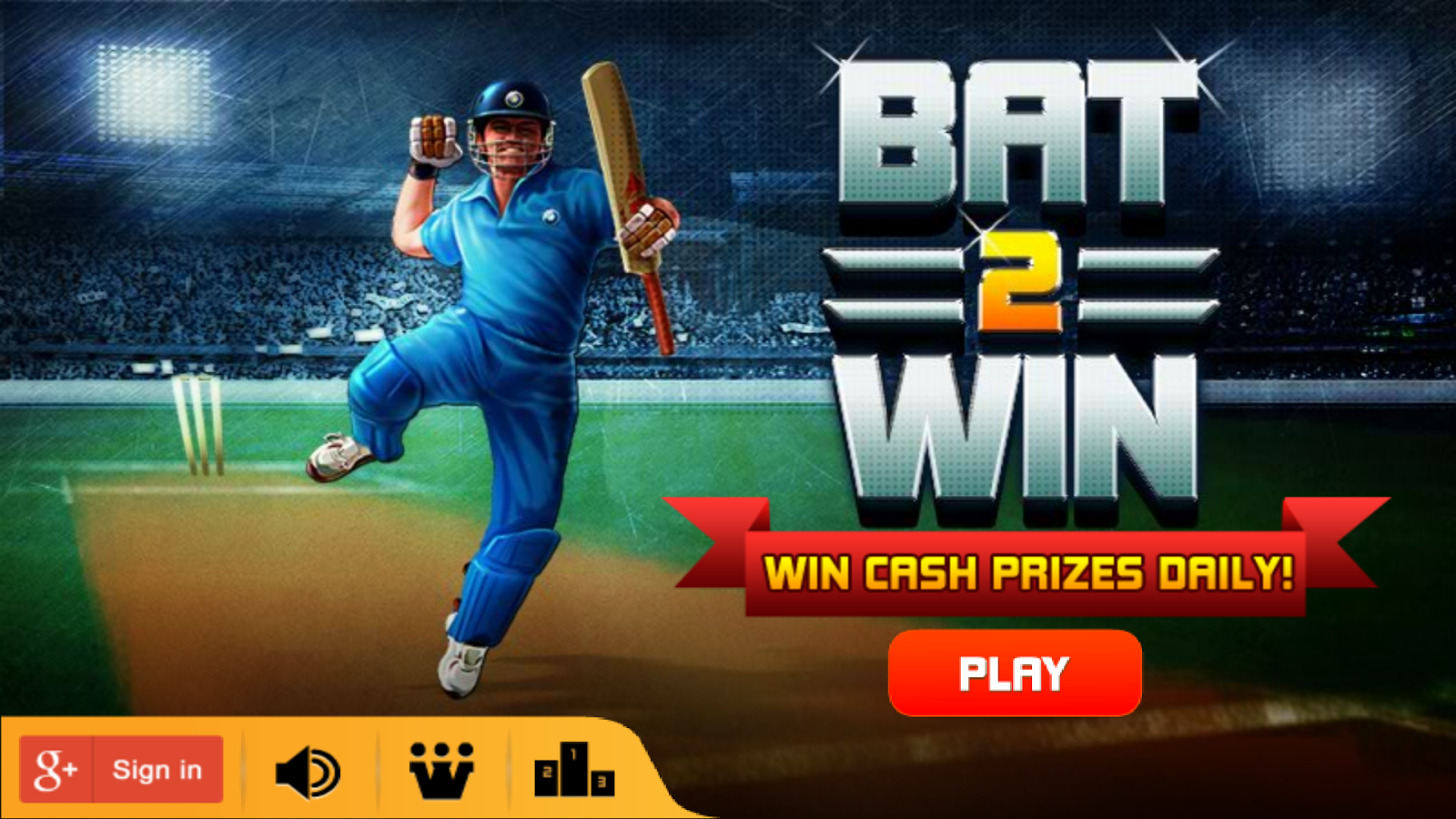 Bat2Win - Free Cricket Game - screenshot