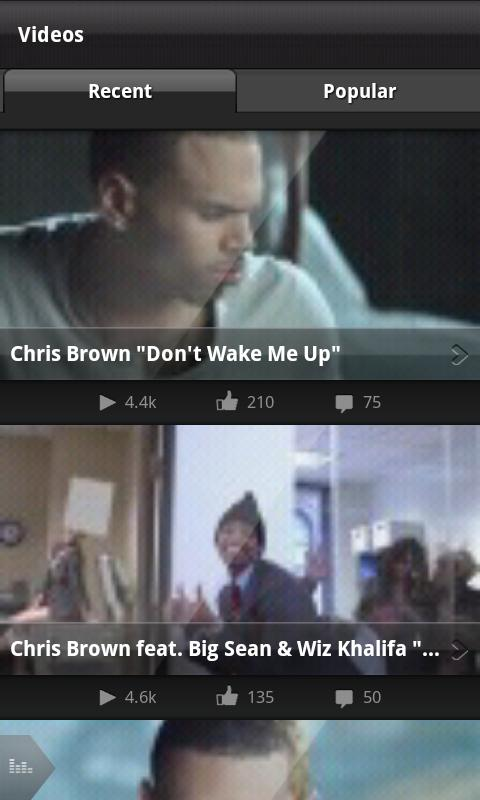 Chris Brown - screenshot