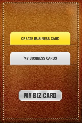 My Biz Card - screenshot