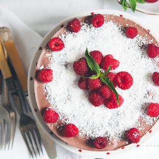 Honest Plates' Raw + Gluten-Free Chocolate Cake.