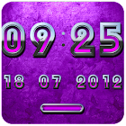 PINK Digital Clock icon