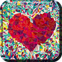 Galaxy S5 Heart Live Wallpaper icon