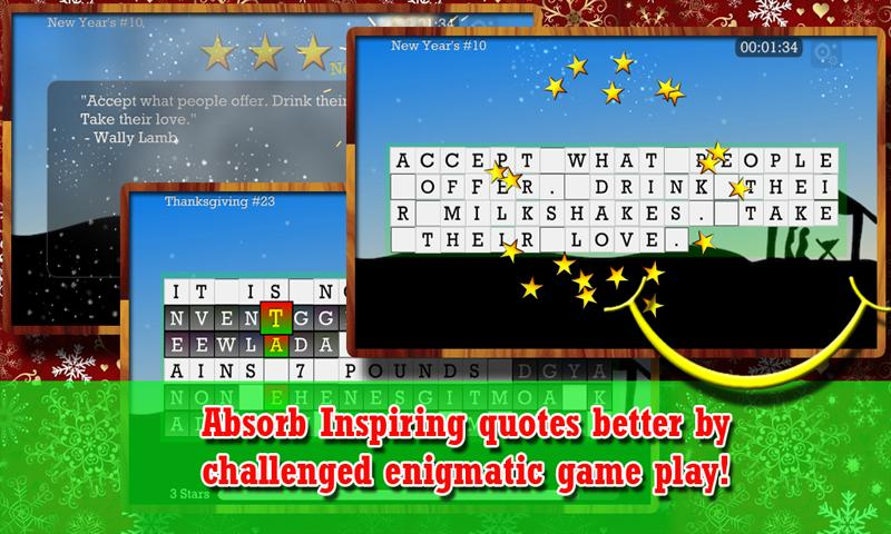 WORD PUZZLE for the HOLIDAY- screenshot