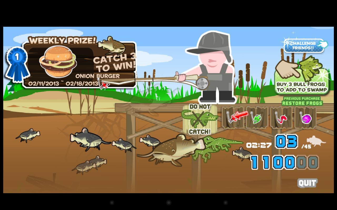Cat fish fry fishing android apps on google play for Fishing game app
