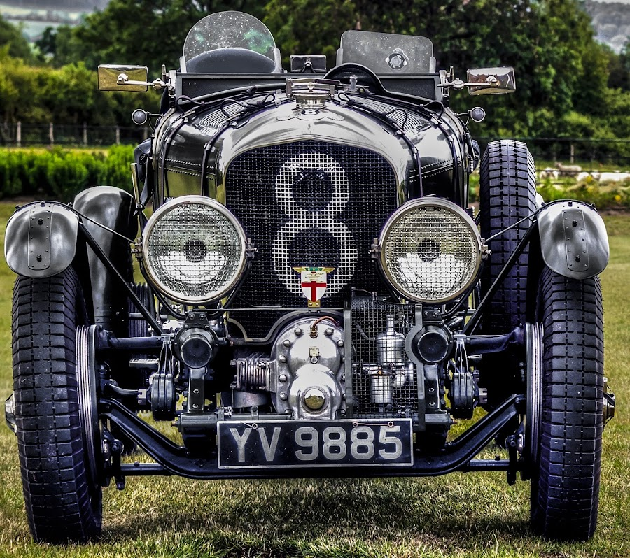 1929→1931 Bentley 4½ Litre 'Blower' by Ian Flear - Transportation Automobiles (  )