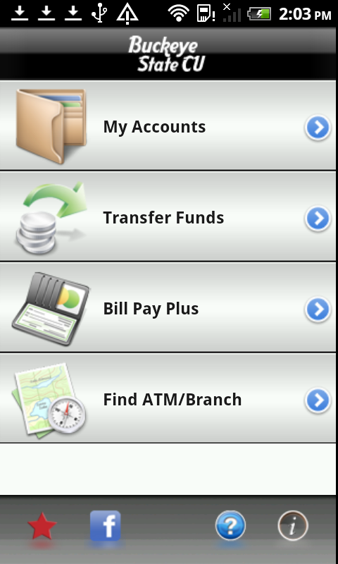 BSCU Mobile Banking- screenshot