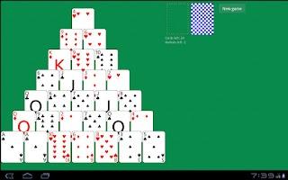 Screenshot of Solitaire Pyramid HD