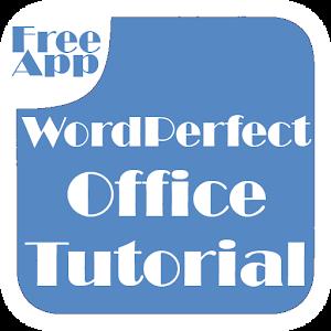 WordPerfect Office Tutorial 程式庫與試用程式 App LOGO-APP試玩