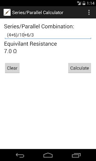 Equivalent Resistance Calc.