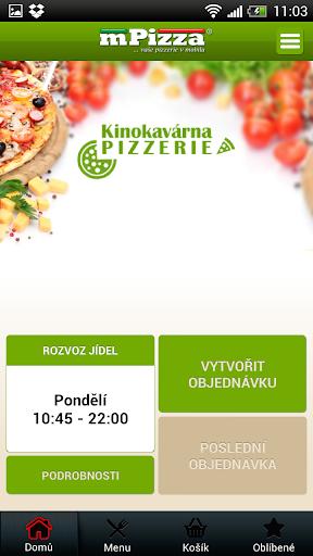 Kinokavárna Štětí-rozvoz pizzy