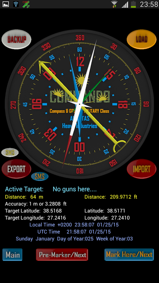 Military Compass Pro- screenshot