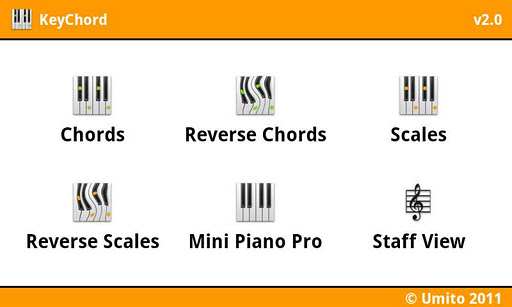 KeyChord - Piano Chords/Scales for Android - Version 2 4 | Free