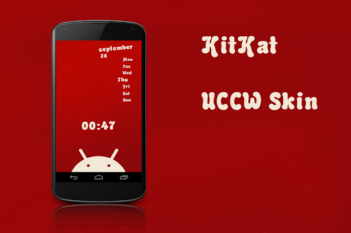 Kitkat Clock Date UCCW Skin