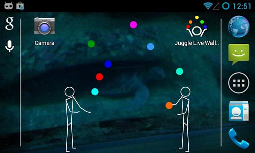 Juggle Live Wallpaper
