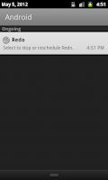 Screenshot of Redo Reminder