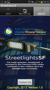 StreetLightsSF - screenshot thumbnail