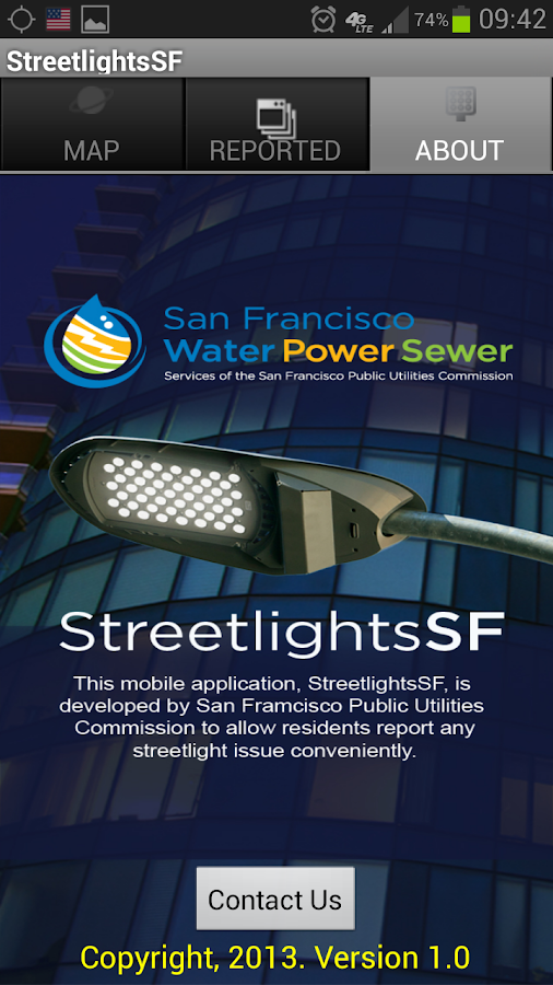 StreetLightsSF - screenshot