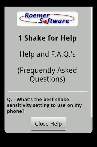 【免費通訊App】1 Shake for Help-APP點子