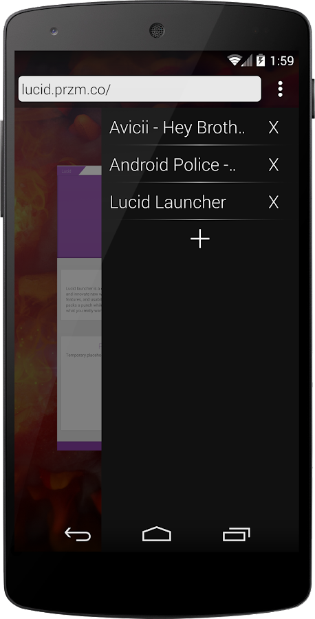 Lucid Launcher - screenshot