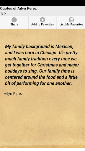 Quotes of Ailyn Perez