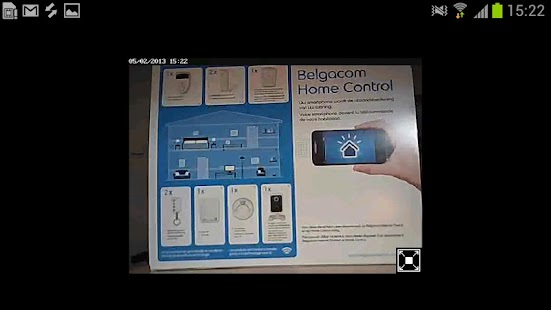 Belgacom Home Control - screenshot thumbnail