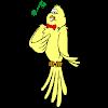 Singen Kanarienvögel