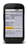 Screenshot of GeoNav