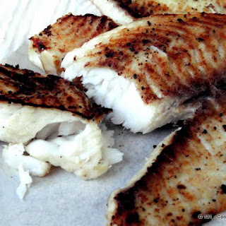 Grilled Lemon Butter Tilapia