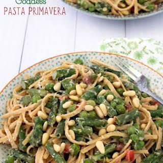 Green Goddess Pasta Primavera.