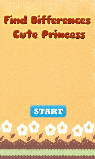 Find Differences Cute Princess