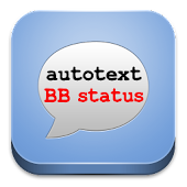 Autotext Status for BBM and FB