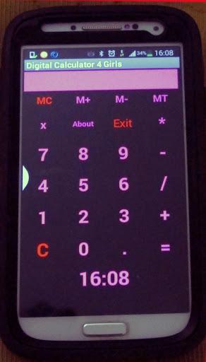 Digital Calculator 4 Girls