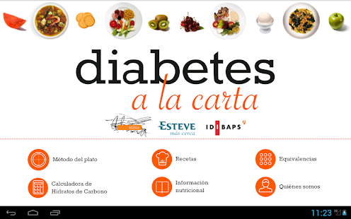 Diabetes a la carta- screenshot thumbnail