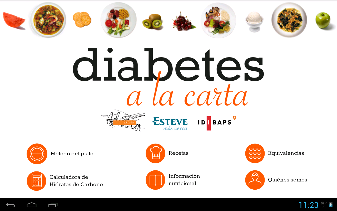 Diabetes a la carta- screenshot
