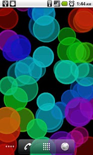 Bokeh Circles Live Wallpaper- screenshot thumbnail