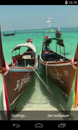 Boat Video Live Wallpaper