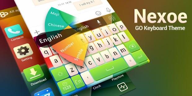 GO Keyboard Nexoe Theme