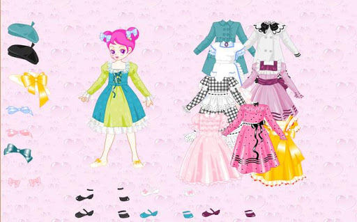 Sue Girl Dress up Game