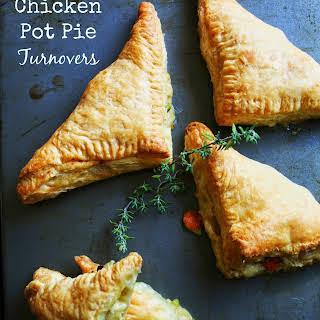 Chicken Pot Pie Turnovers.