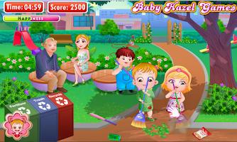 Screenshot of Baby Hazel Earth Day