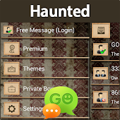 GO SMS Haunted