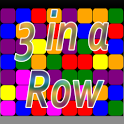 3 Blocks  in a Row icon