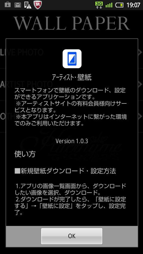 アーティスト・壁紙- screenshot