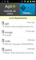 Screenshot of Agit: Git client