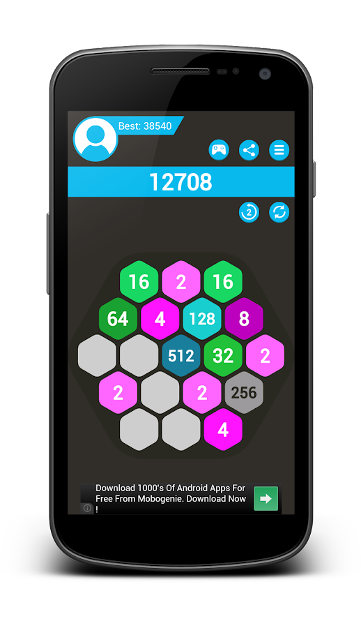 4096 Hexa- screenshot