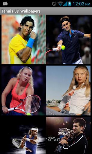 Tennis 3D Wallpapers