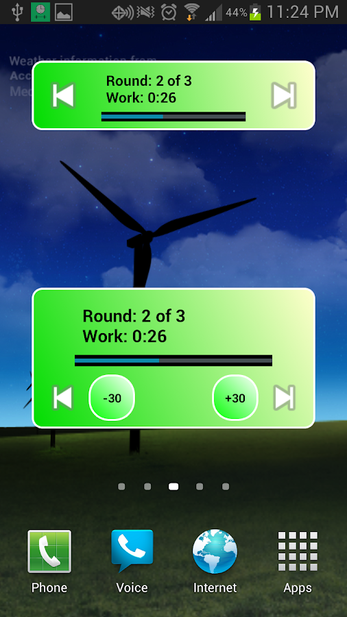 Workout Timer - screenshot