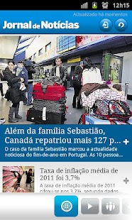 JN - Jornal de Notícias - screenshot thumbnail